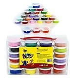 Тесто для лепки, 24 цвета, 0233