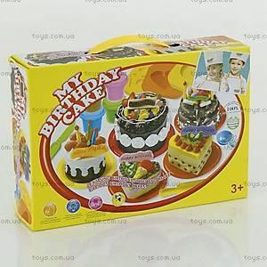 Тесто для лепки «Торт на день рождения», 8210