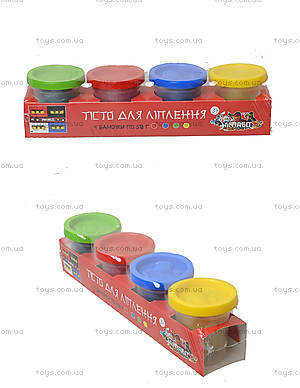 Набор пластилина для творческой лепки, 1010A, цена