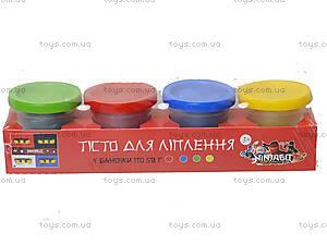 Набор пластилина для творческой лепки, 1010A, детские игрушки