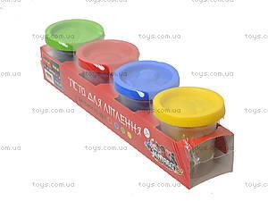 Пластилиновое тесто для творчества детей, 1008A, детские игрушки