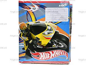 Тетрадь 12 листов Hot Wheels, HW14-234K, фото