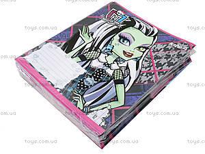 Тетрадь 12 листов Monster High, MH14-234-1K, фото