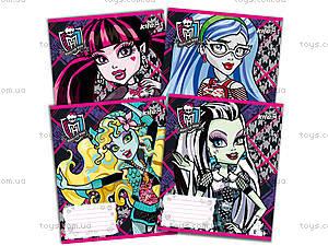 Тетрадь 12 листов Monster High, MH14-234-1K