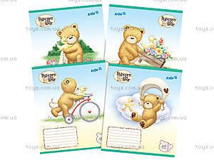 Тетрадь косая линия Popcorn Bear, PO14-235K