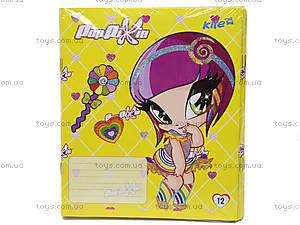 Тетрадь Pop Pixie, 12 листов, PP14-232K, купить