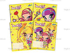 Тетрадь Pop Pixie, 12 листов, PP14-232K