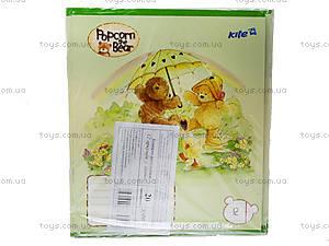 Тетрадь Popcorn Bear, 12 листов, PO14-234K