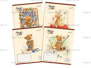 Тетрадь Popcorn Bear, 18 листов, PO14-237K