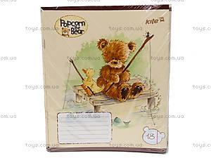Тетрадь Popcorn Bear, 18 листов, PO14-237K, фото