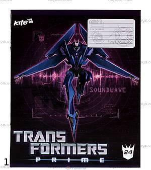 Тетрадь Transformers, 24 листа, TF13-239K, фото