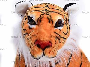 Тигр мягкий, музыкальный, S-ATA3193/110, игрушки