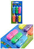 """Текстовый маркер мини """"Смайлик"""" 6 цветов, без запаха, YZ-3028-6, интернет магазин22 игрушки Украина"""