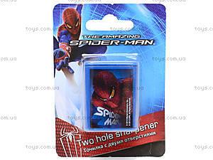Точилка с 2 отверстиями Spiderman, SM4U-12S-221-BL1