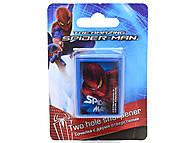 Точилка с 2 отверстиями Spiderman, SM4U-12S-221-BL1, фото
