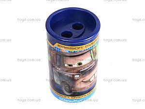 Точилка цветная с контейнером «Тачки», 620141, купить