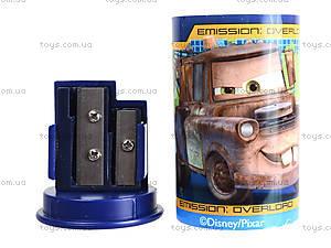Точилка цветная с контейнером «Тачки», 620141, фото