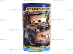 Точилка цветная с контейнером «Тачки», 620141, цена