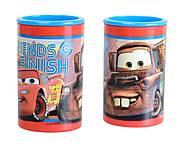 Точилка с контейнером «Тачки», двойная, 620218, купить