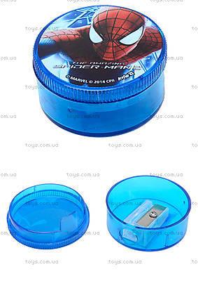 Точилка с круглым контейнером «Человек-паук», SM14-116K