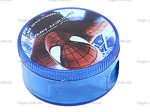 Точилка с круглым контейнером «Человек-паук», SM14-116K, цена