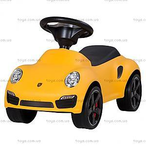 Толокар для детей Porsche лицензия, желтый, U-057Y