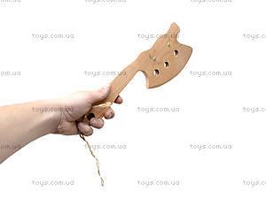 Игрушечный деревянный топор, 238-06-08, фото