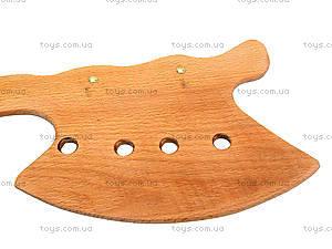 Игрушечный деревянный топор, 50 см, 141-018у, фото