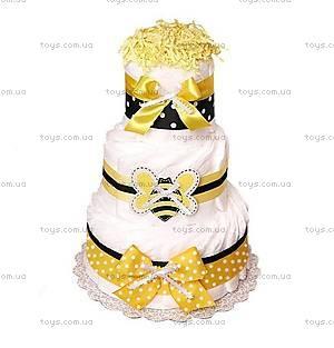 Торт из памперсов Bee, PPC04