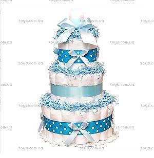 Торт из памперсов Blue, BH05