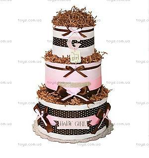 Торт из памперсов для девочки Baby Girl, BH02
