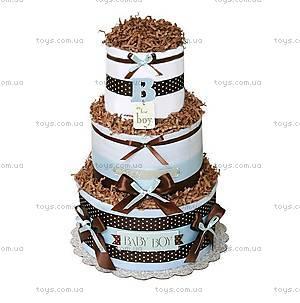 Торт из памперсов для мальчика Baby Boy, PPC03