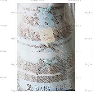 Торт из памперсов для мальчика Baby Boy, PPC03, купить