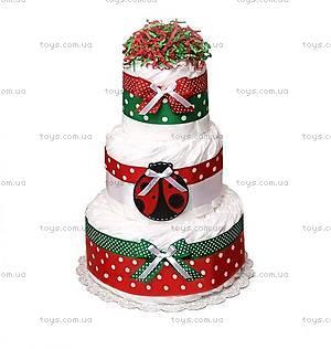 Торт из памперсов Ladybug, PPC37