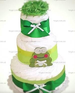 Торт из подгузников Frog, PPC17