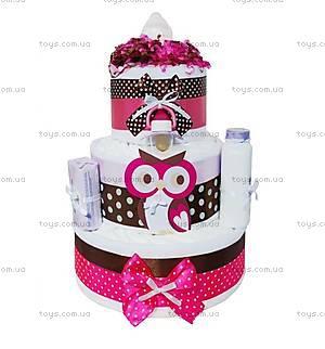 Торт из подгузников Owl, PPC36