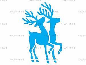 Трафарет «Рождественское окошко», НОТ-001, игрушки