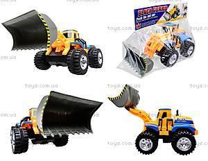 Детский трактор с ковшом, 086A