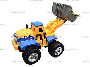 Детский трактор с ковшом, 086A, отзывы