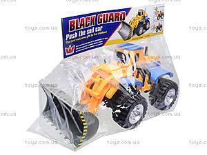 Детский трактор с ковшом, 086A, цена