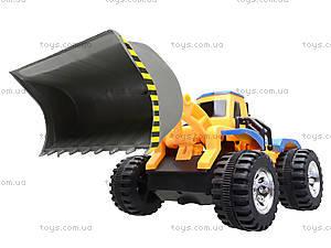 Детский трактор с ковшом, 086A, игрушки
