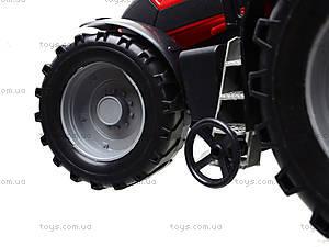 Игрушечный трактор для детей «Фермер», 1088B, игрушки
