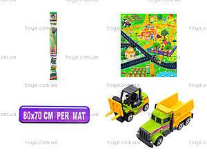 Игрушечный трактор с картой, SQ80664-2