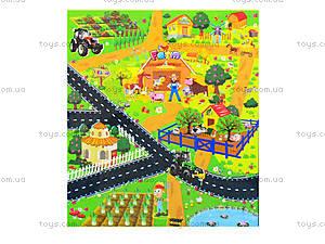 Игрушечный трактор с картой, SQ80664-2, игрушки