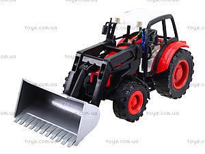 Игровой инерционный трактор для детей, 27002-456, отзывы