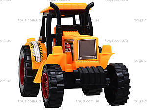 Инерционный трактор для игры, 323BD, фото