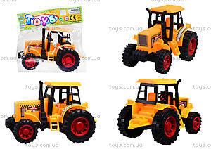 Инерционный трактор для игры, 323BD