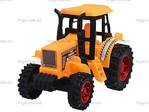 Инерционный трактор для игры, 323BD, игрушки