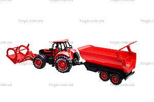 Игрушечный трактор с прицепом «Ферма», 3369-28, отзывы