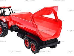 Игрушечный трактор с прицепом «Ферма», 3369-28, игрушки